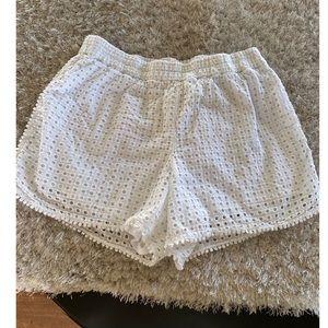 Lilly Pulitzer White Shorts Size 1X